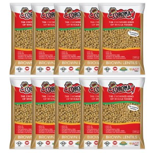 Corona Brown lentils 500g x 10