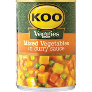 Koo Mixed Veg in Curry Sauce 420g x 12