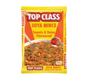 Top Class Soya Mince Tomato & Onion Flavour 500g x 5