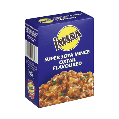 Imana Soya Mince Savoury 200g x 40