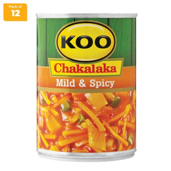 Koo Chakalaka Mild & Spicy 410g x 12