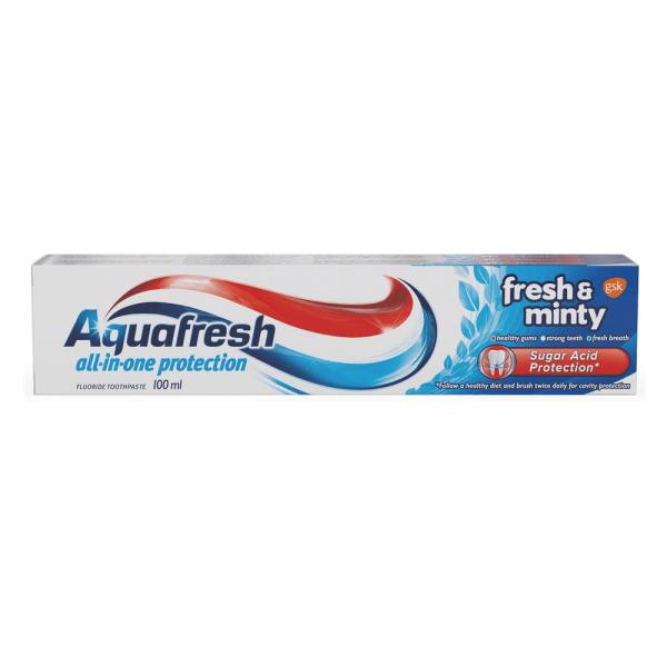 Aquafresh Mild & Minty Toothpaste 50ml x 12