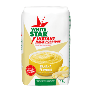 White Star Instant Maize Porridge Banana 1kg