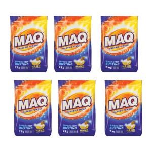 MAQ Hand Washing Powder 2kg x 8