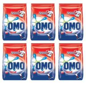 Omo Hand Washing Powder 600g x 6