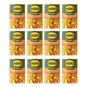 Koo Mixed Vegetables in Curry Sauce 420g x 12