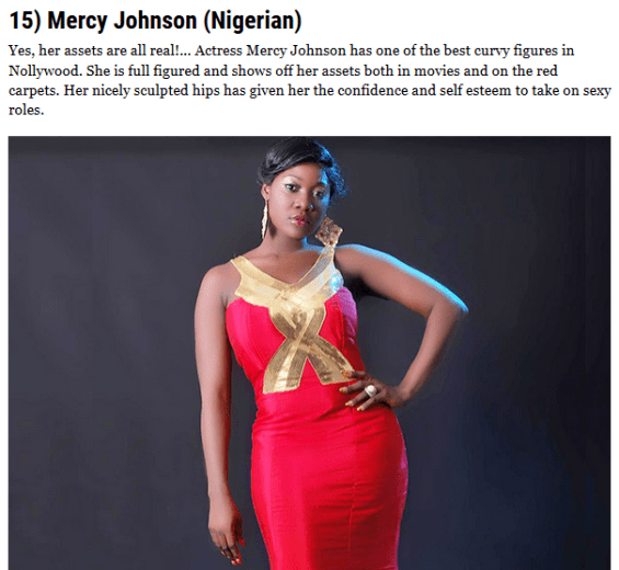 Meet The 20 Most Curvy African Celebrities. List Includes