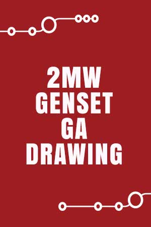 2MW Genset GA Drawing