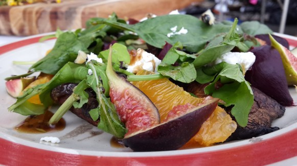 Who says a salad can't be stylish at a braai?