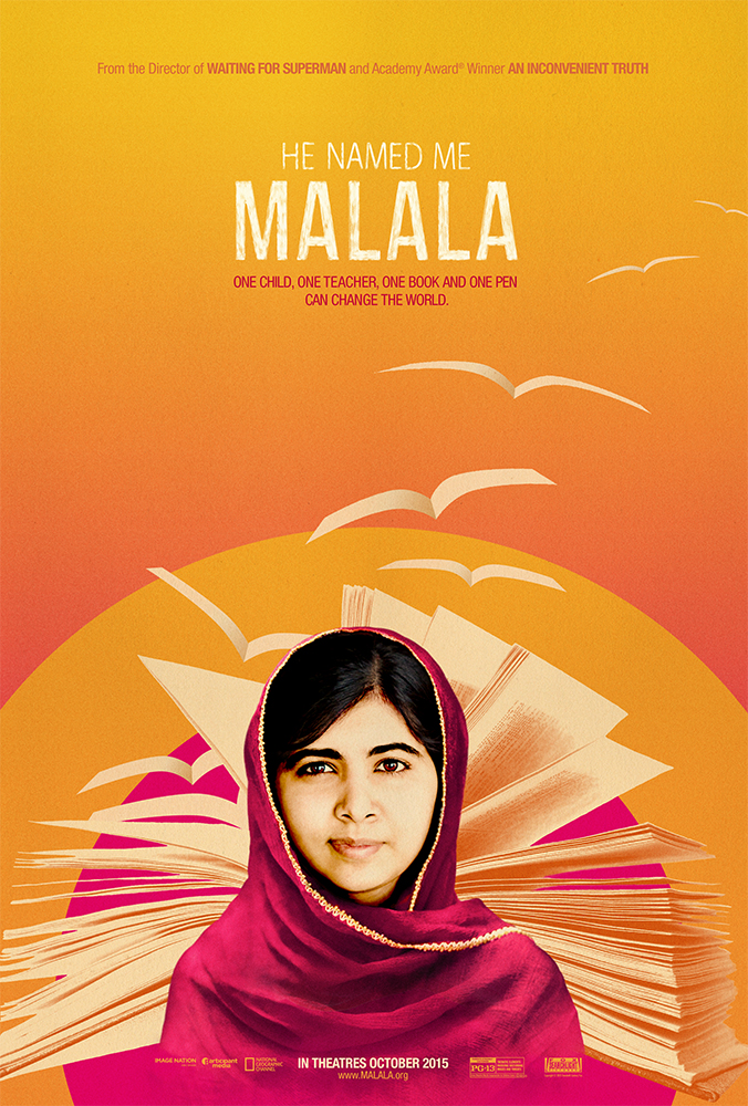 HE NAMED ME MALALA one-sheet