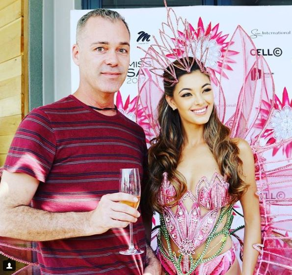 demi-leigh Nel peters Miss South Africa MissUniverse Radio Today Johannesburg Food Travel JoziStyle Edward Chamberlain-Bell