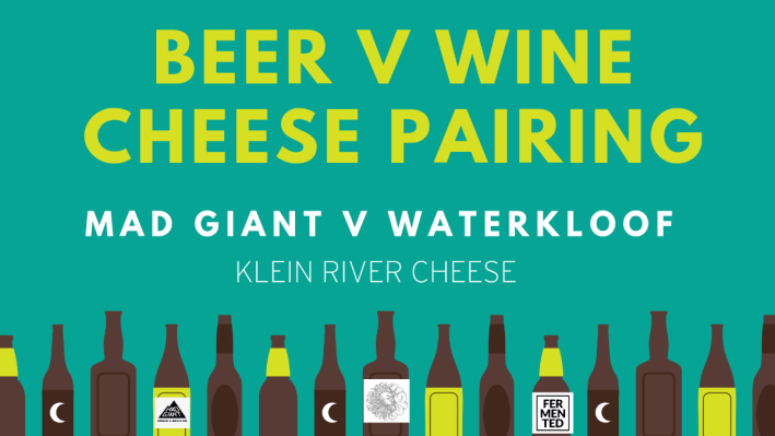 Fermented presents Beer V Wine Cheese Pairing