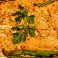 Grilled Salmon with Maple Dijon Glaze