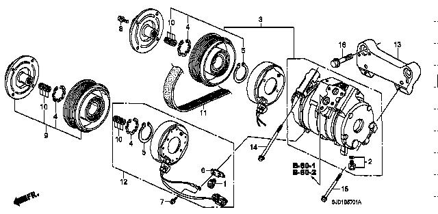 38810-RJJ-003 / 38810RJJ003 / COMPRESSOR COMP. / EDIX