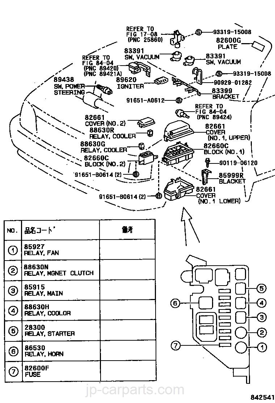hight resolution of 1997 toyota rav4 fuse box chart