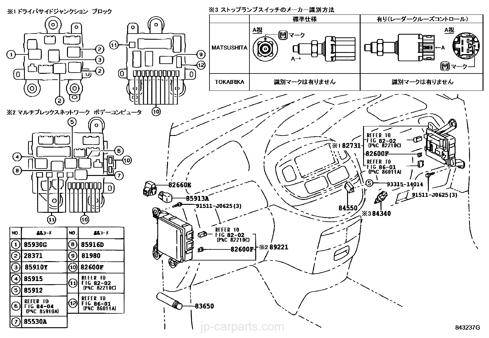 Toyota Estima Fuse Box Layout In English : 40 Wiring
