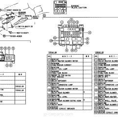 99 Toyota Camry Wiring Diagram Jvc Car Stereo Solara Fuse Panel Auto