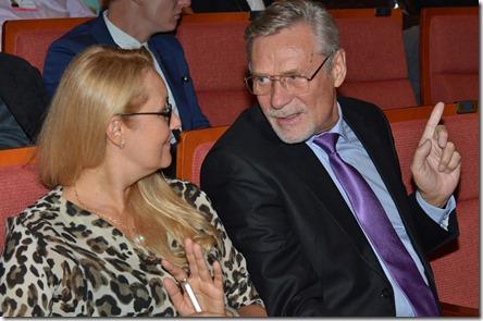 Александ Михайлов с супругой