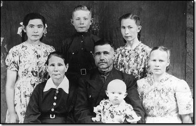 Семья Кычаковых мне 1 годик