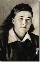 Т.А. Шароглазова (Лелекова), 1956 г.
