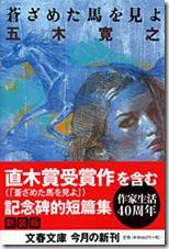 Обложка романа «Смотри на побледневшую лошадь»