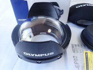 中古品 オリンパス 防水レンズポート PPO-EP02