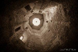 Intérieur du donjon du château de Gisors