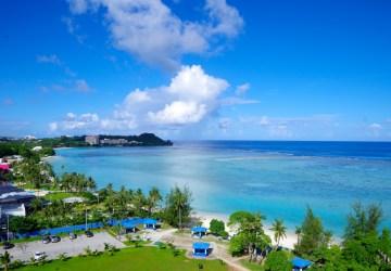 アメリカ・グアム旅行:タモンビーチ