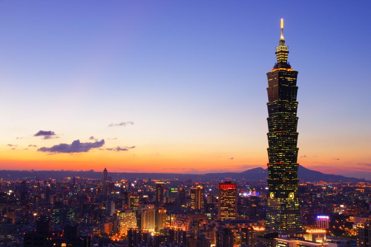 Taiwan Taipei Taipei 101 AShutterstock 215133070