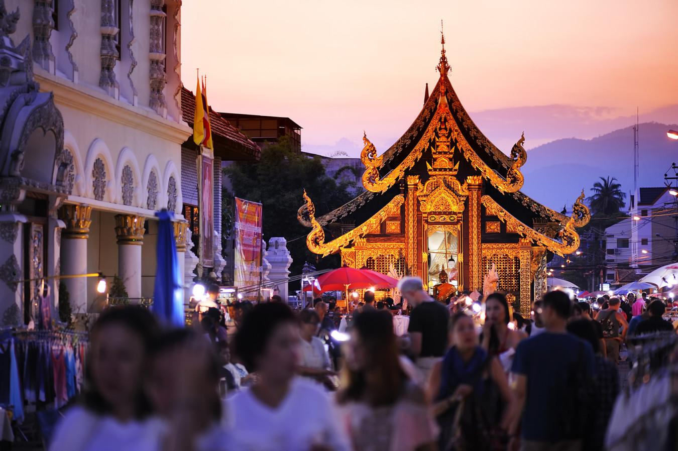 タイ・チェンマイ:マーケット