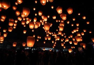 asia taiwan new taipei pingxi sky lantern festival 20194