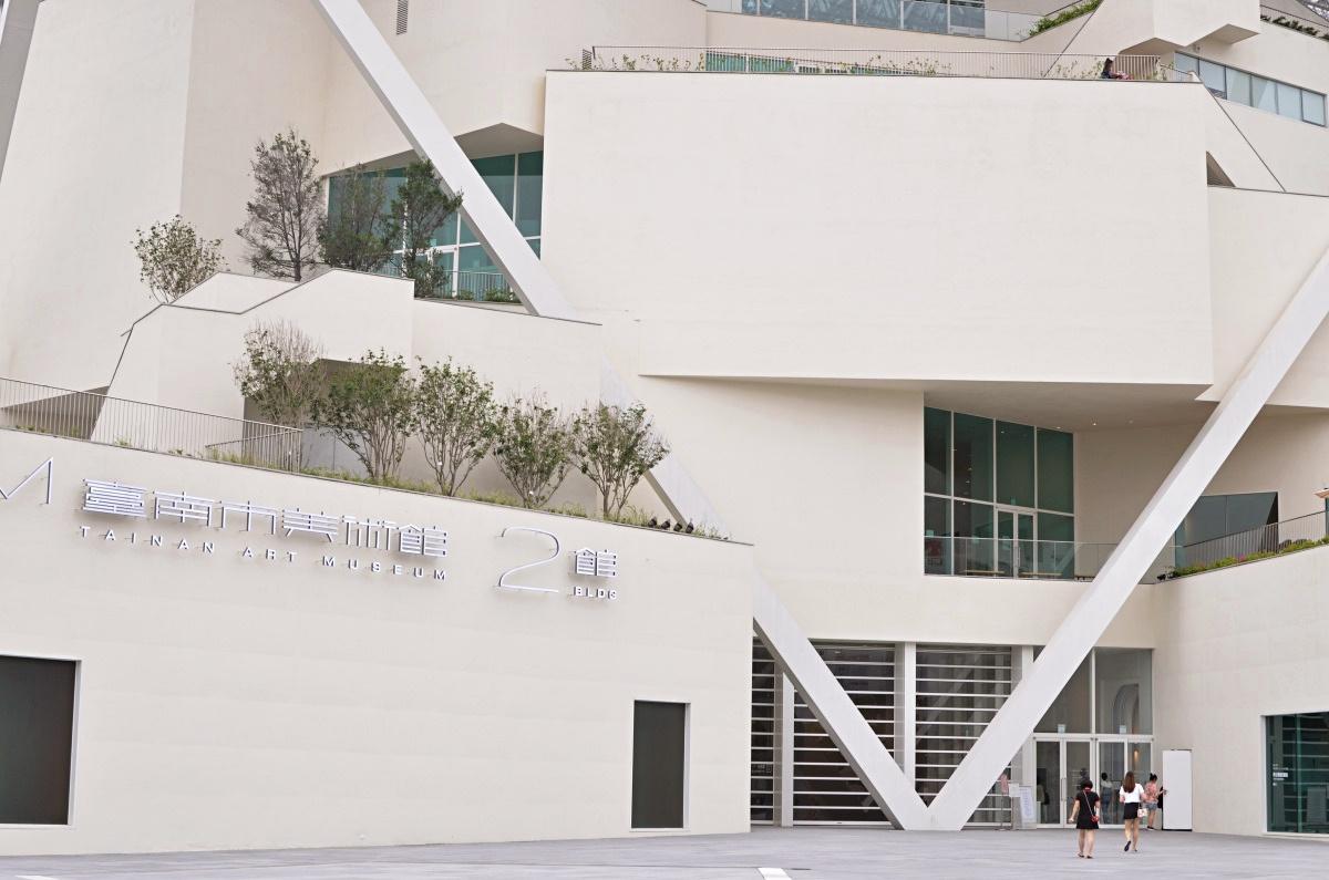 台湾・台南のおすすめ観光スポット:台南美術館2館の外観