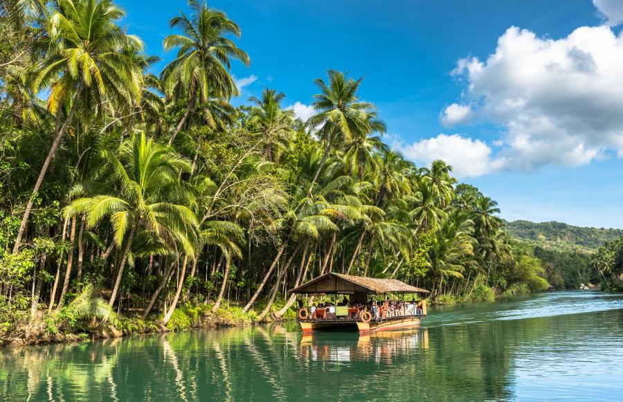 batch Philippines Bohol Island Loboc River Ashutterstock 418733320