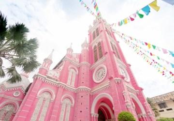 batch    Vietnam Ho Chi Minh Tan Dinh Church Pink Church Ashutterstock 659822542