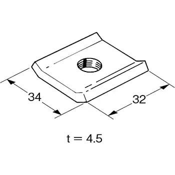 DHN-W3 ワールドダクター(ダクター中ナット) ネグロス電工 45126873