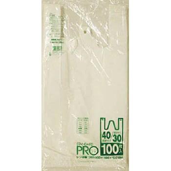 Y-6H-W レジ袋乳白 1袋(100枚) 日本サニパック 【通販モノタロウ】 48971842