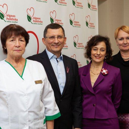 Alvils Krams, Kintija Barloti, Lilita Dinka, Marina Kovaļova, Jelgavas poliklīnika, Pneimoloģijas konference