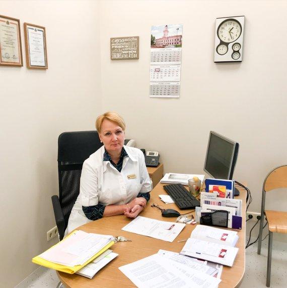 Marina Kovaļova Kardiologs Jelgavas Poliklīnika