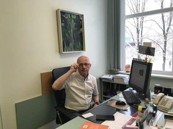 Guntis Buldinskis onkologs - ķīmijterapeits, Jelgavas poliklīnika