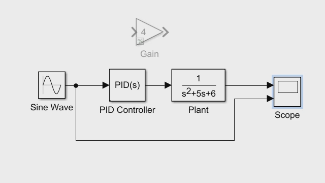 Getting Started with Simulink, Part 4: Tuning a PID