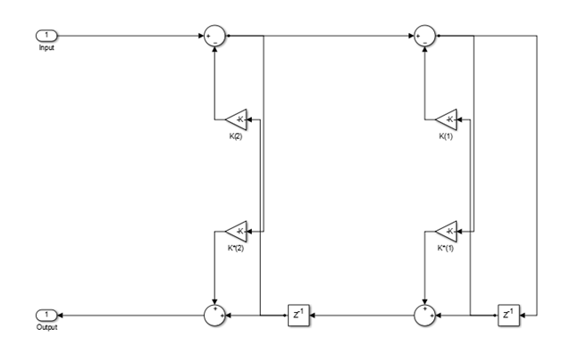 Single-section or multiple-section allpass filter
