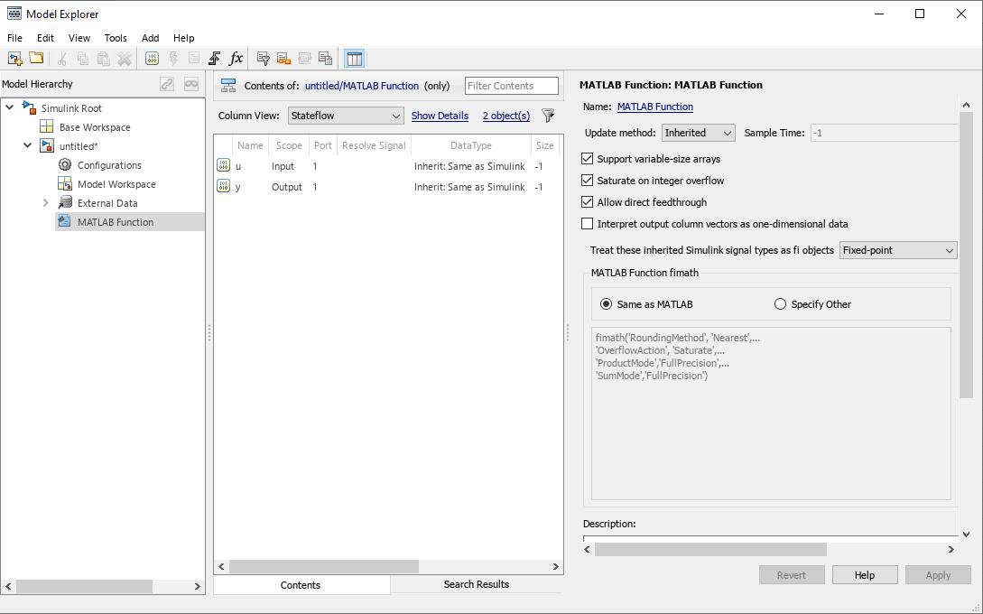 MATLAB Function ブロックを使用したコード生成 - MATLAB & Simulink - MathWorks 日本