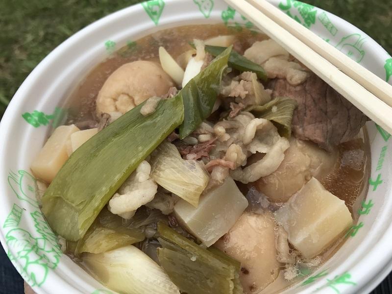 日本一の芋煮会フェスティバルで食べられる芋煮