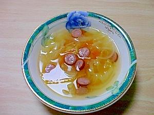 コンソメで作る簡単 野菜スープ