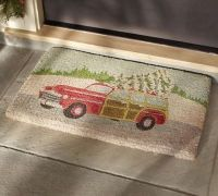 Woody Car Door Mat | Pottery Barn / christmas xmas ideas ...