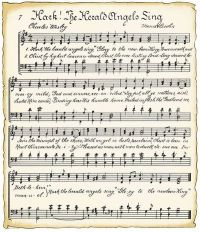 Vintage Sheet Music ` Hark The Herald Angels Sing ...