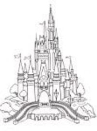 Printable Disney coloring pages for parks and specific