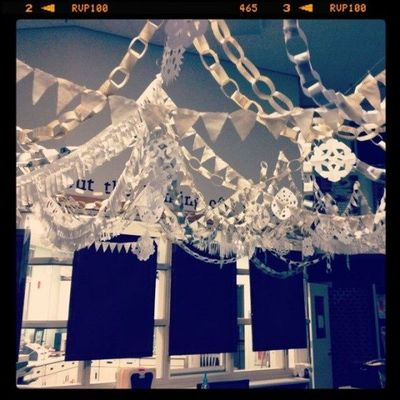 paper chains banners and