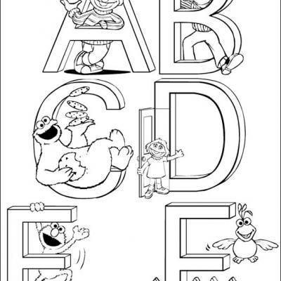 Elmo Coloring Pages #coloringpages #printable / Preschool