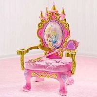 Magical Talking Disney Princess Throne